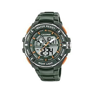 Calypso Watches Reloj Analógico-Digital para Hombre de Cuarzo con Correa en Plástico K5769/5
