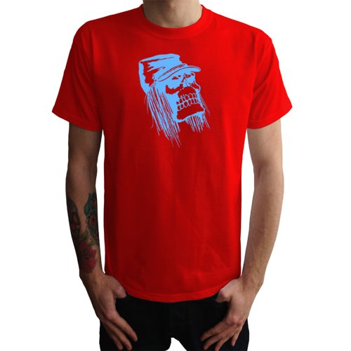 Penner Skull Herren T-Shirt Rot