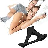 TriLink Anti-Schnarch Schnarchmaske Schnarchstopper - Antischnarchband – Angenehm weiche Schnarchschiene, Verrutscht nicht und Einstellbare Größe