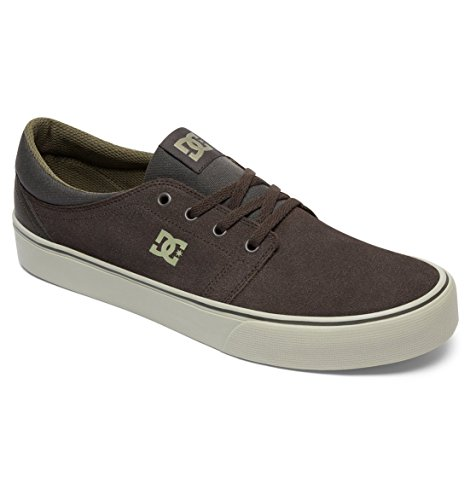 DC Shoes Trase SD, Sneaker Uomo Vert - Military Green/Cream