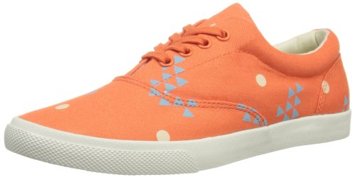 Bucketfeet Sun, Scarpe di sicurezza donna, Multicolore (Coral/Blue/Tan), 37.5