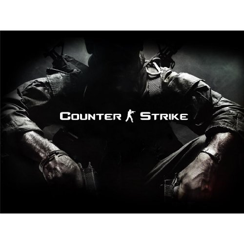 Counter-Strike-Poster-On-Silk-47-x-35-cm-or-80-x-60-cm-19-x-14-inch-or-32-x-24-inch-Seide-Plakat-E27C8B