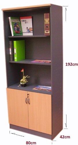 cupboard office. home office tall cupboard bookcase with shelves u0026 door beech dark r