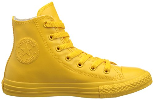 CONVERSE 344744C ALL STAR HI RUBBER RED SNEAKERS Enfant - Jaune