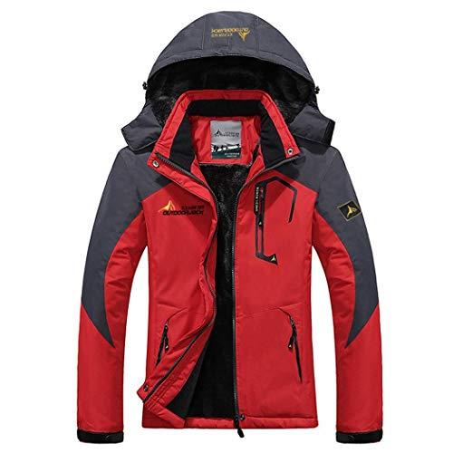 Sliwei Winter Warm Jacket Patchwork Sports   Outdoors Recreation Overcoat  Outwear delgado abrigo de cremallera de ec5522736cd