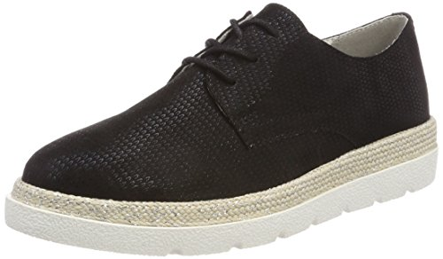 s.Oliver Damen 23659 Oxfords, Schwarz (Black), 42 EU