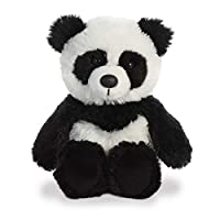 AURORA, 34211, Cuddly Friends Panda, Soft Toy, Black & White, 8""