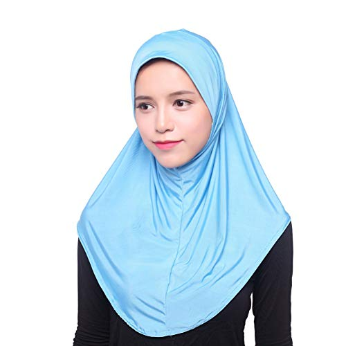 Yalatan - Hijab Kopftuch für muslimische Frauen I Islamische Kopfbedeckung Islam Solide Weiche Maxi Schal - Die Der Besten Mailbox