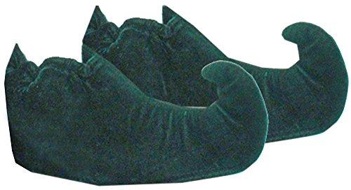 Zwerg Elfen Schuhe Kinder Grün