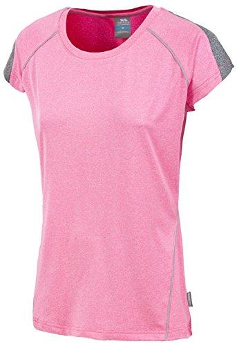 Trespass Oko T-Shirt de Sport Femme HiViz Pink