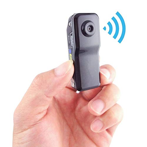 Huhu833 Mini Kamera, WiFi IP Indoor Wireless Camcorder Familie Sicherheit Überwachung Kamera Mini-Kamera DVR New Digital für iPhone/Android (Schwarz)