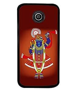 Fuson Designer Back Case Cover for Motorola Moto E :: Motorola Moto E XT1021 :: Motorola Moto E Dual SIM :: Motorola Moto E Dual SIM XT1022 :: Motorola Moto E Dual TV XT1025 (Gopal Balgopal Devkinandan Jagannath)