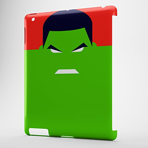 Fresh Cases Superhelden Hulk iPad 2/3/4Cover (Case Hulk 3 Ipad)