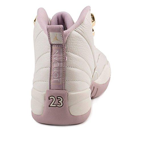 best sneakers 141a6 b427f ball Nike Fog Basket plum Hc Gg Espadrilles Mtlc Jordan 12 light De Air  Star Femme Prem Beige Gold Retro ...
