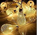 Best Outdoor String Lights - Pragart New Waterdrop String 16- Led Decorative Light,Warm Review