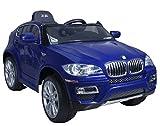 BMW X6 Blue Elektroauto mit Lizenz Offizielle für Kinder