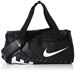 Nike Unisex Sporttasche Alpha Adapt Crossbody, black/white, 53.5 x 28 x 25.5 cm, 33 Liter, BA5183-010