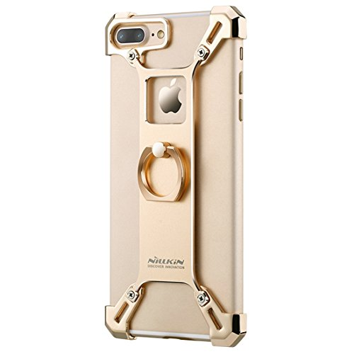 Hülle für iPhone 7 plus , Schutzhülle Für iPhone 7 Plus Textur PU Leder Horizontale Flip Leder Tasche mit Halter & Card Slots & Wallet & Photo Frame & Lanyard ,hülle für iPhone 7 plus , case for iphon Gold
