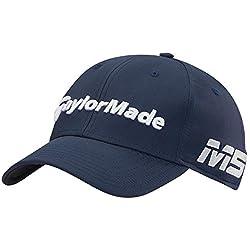 TaylorMade Golf 2019 Casquette de Golf Ajustable pour Radar M5 / TP5 pour Hommes Navy