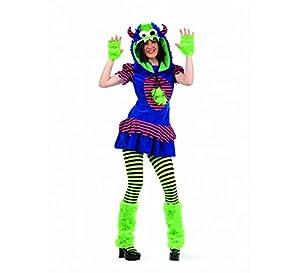 Limit Sport - Disfraz de monstruo Alice para adultos, talla S (MA560)