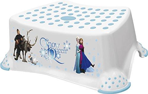 """Kinderhocker mit rutschsicherer Oberfläche, Disney-Motiv aus dem Film """"Die Eiskönigin - Völlig unverforen"""" in englischer Sprache"""