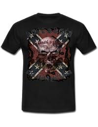 Hot Rod Rods Rockabilly Skull Rebel Camisetas