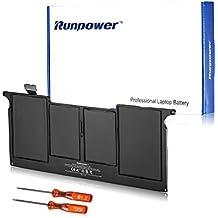 """Runpower Nueva batería del ordenador portátil para Apple A1375 A1370 (Sólo para finales de 2010 Versión) MacBook Air de 11 """"+ Dos destornilladores libres - 18 meses de garantía [de polímero de litio de 4 celdas 35Wh / 4800mAh]"""