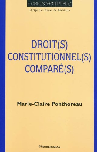 Droits constitutionnels comparés