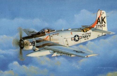 Super Wing Series SWS 03 Maquette Douglas A-1H Skyraider U.S.Navy au 1/32ème