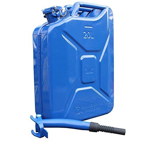 metallkanister-20l-benzinkanister-ausgiesser-flexibel-dunkelblau-baumarktplus-dieselkanister-bleifre