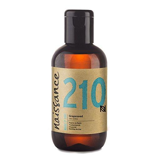 Naissance Huile de Pépins de Raisin (n° 210) - 100ml - 100% pure et naturelle,...
