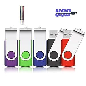 CLE USB 2.0 par kacai Lot de 5 Pièces
