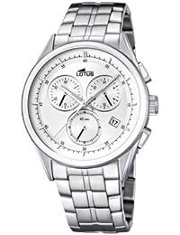 Amazon.es  reloj lotus cronografo hombre - Blanco  Relojes f224bf0947e1