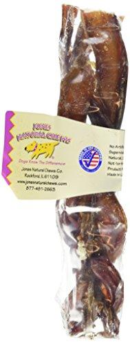 Artikelbild: Jones Natural Chews Bully Braided Stick Dog Treat by Jones
