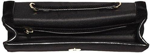 Cavalli  Clutch RSVP Treasure 002, Sacs portés main femme Noir (999)
