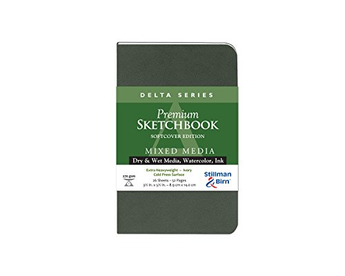 Delta Softcover Sketchbook 3.5X5.5 by Stillman & - Stillman And Birn-delta
