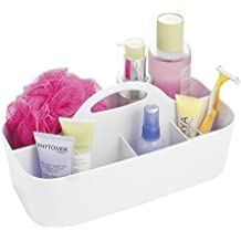 MDesign Badezimmer Korb   6 Fächer   Organizer Dusche Und Bad    Aufbewahrungsbox   Farbe:
