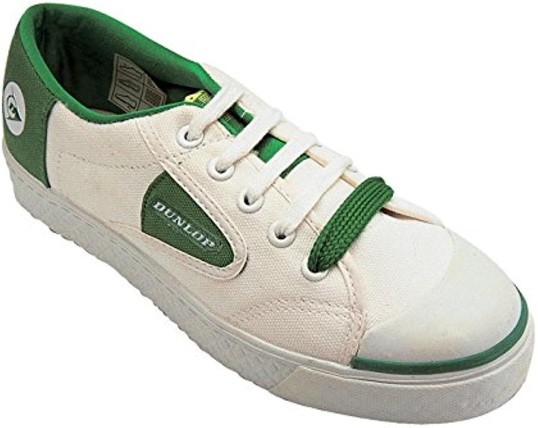 Green Flash Unisex Turnschuhe Sportschuhe Freizeit Schuhe Schnürschuhe Sneaker Weiß EUR 38