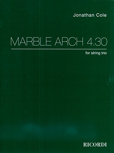 London Marble Arch (Marble Arch 4,30 - Violin, Viola and Cello - Set)