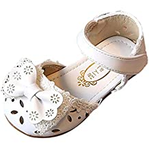 e0a9ac380cf183 Scarpe da Principessa Scarpe con Tacco Ragazza Ballerine Bambina Cerimonia  Festa Lustrino Nozze Scarpe da Principessa