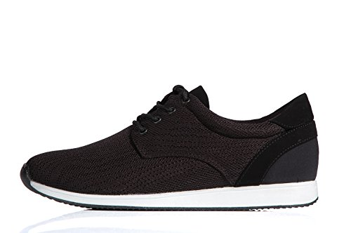 Vagabond Kasai textile and leather black light sneaker - Scarpe sportive nere leggere in tessuto e pelle