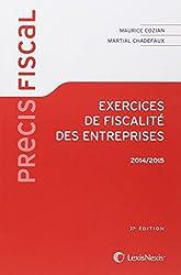 Exercices de fiscalité des entreprises 2014-2015