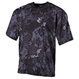 MFH US Army Herren Tarn T-Shirt (Snake Black/XL)