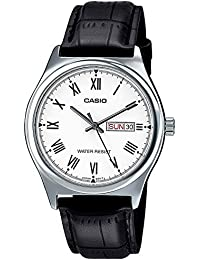 Casio Enticer Analog White Dial Men's Watch-MTP-V006L-7BUDF (A1017)