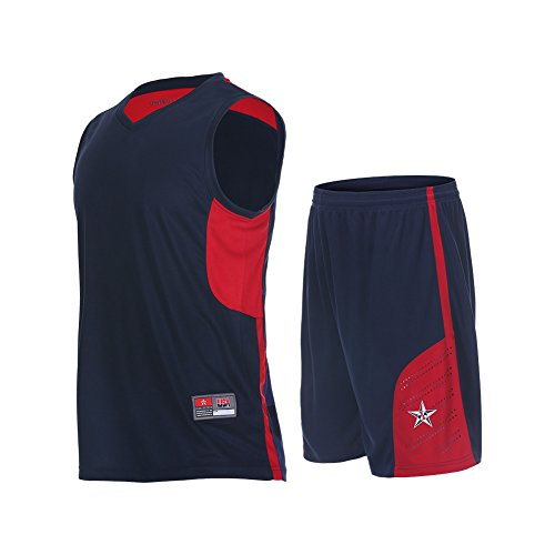 Fanceey Men Basketball Jerseys training clothing sports suit two sets Basketball suits