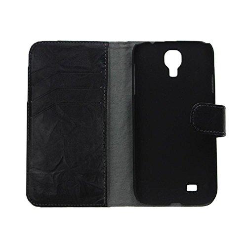 Xqisit Flip-Case Etui aus Leder (für iPhone 5C, Schwarz Buffalo