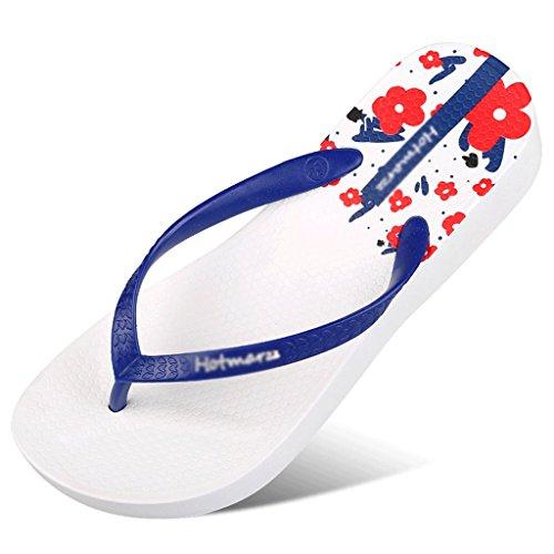 Pantoufles d'été Femme Slip Plat Femme Sandales Plage Chaussures