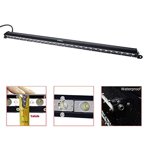 Für Led-licht-paket Tacoma (KAWELL 90W Arbeitsscheinwerfer Lichtleisten 4X4s CREE Chips Combo Reflektor Scheinwerfer Flutlicht Arbeitslicht Nebelscheinwerfer Tagfahrleuchten für Auto Off-Road)