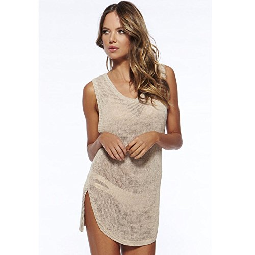 Preisvergleich Produktbild GK-Bikini Europe Damen Badeanzug einteilig,Apricot,