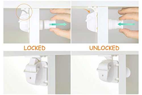 Zoom IMG-3 mauitec magnetico cabinet locks nessun